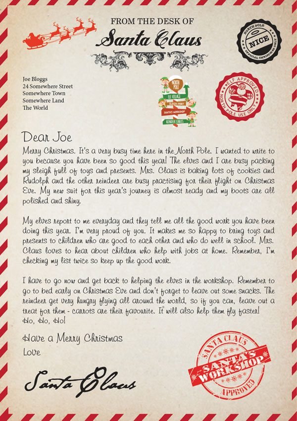 Letter Design A Merry Christmas